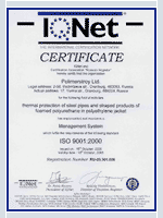 «IQNET» Management system ISO 9001:2000